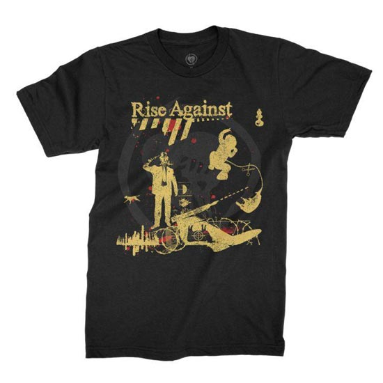 T-Shirt - Rise Against - Appeal to Reason-Metalomania