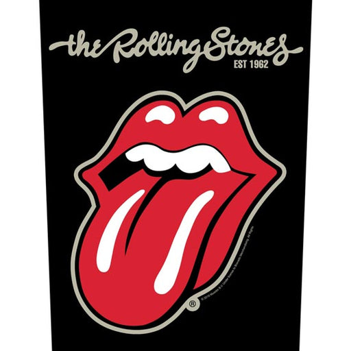 Back Patch - Rolling Stones - Plastered Tongue