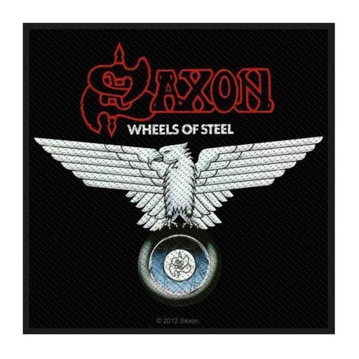 Patch - Saxon - Wheels of Steel-Metalomania