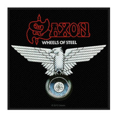 Patch - Saxon - Wheels of Steel