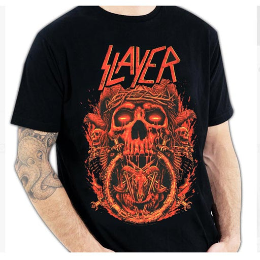 T-Shirt - Slayer - Crown-Metalomania