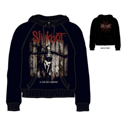 Hoodie - Slipknot - Gray Chapter Skull (pullover)