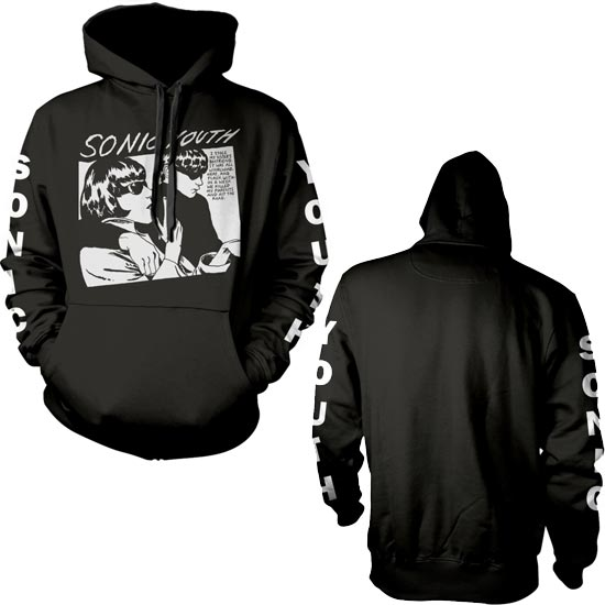 Hoodie - Sonic Youth - Goo Album Cover - Pullover-Metalomania