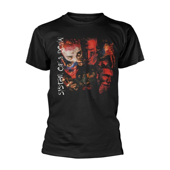 T-Shirt -  System of a Down -  Painted Faces