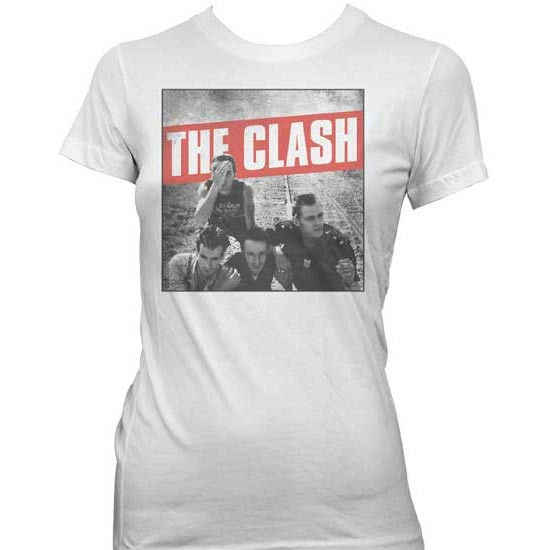 T-Shirt - Clash (the) - B&W Photo LADY-Metalomania