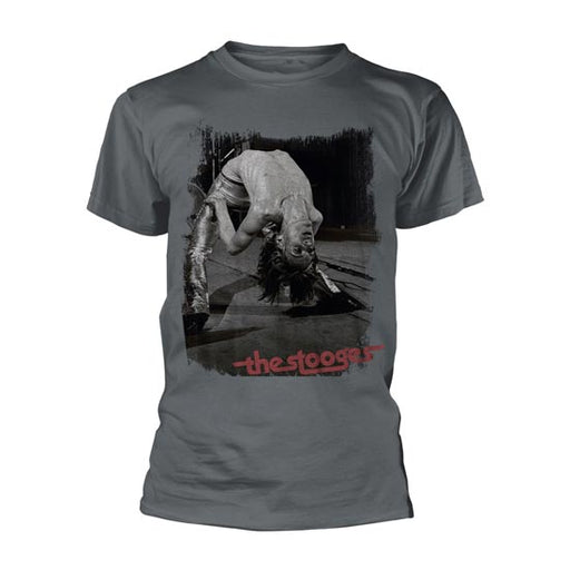 T-Shirt - Stooges, The - Bend - Grey