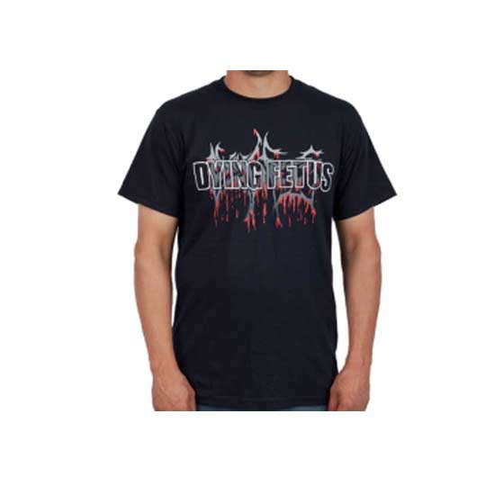 T-Shirt - Dying Fetus - Logo-Metalomania