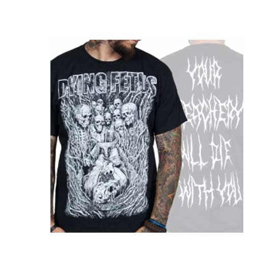 T-Shirt - Dying Fetus - Treachery-Metalomania