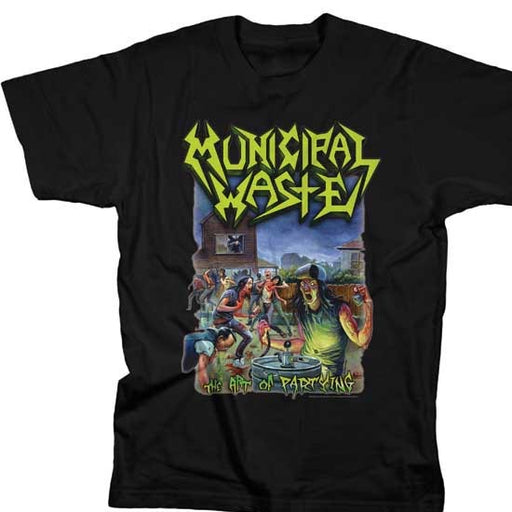 T-Shirt - Municipal Waste - Art of Partying-Metalomania