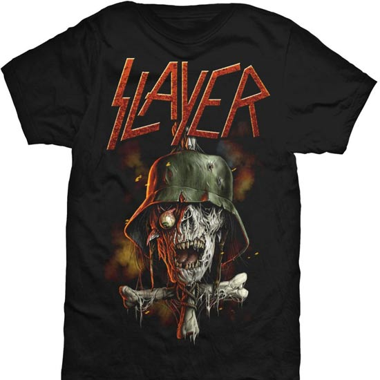 T-Shirt - Slayer - Soldier Cross V2-Metalomania