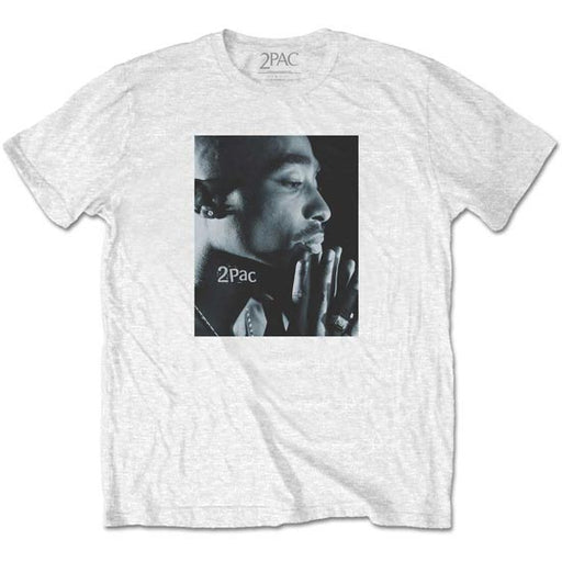 T-Shirt - Tupac - Changes Side Photo - White