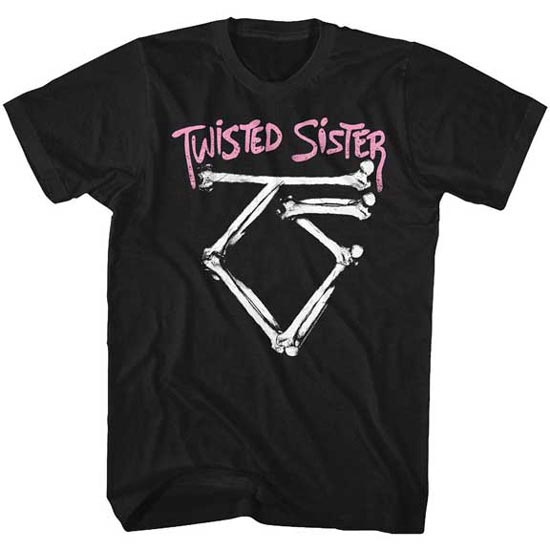 T-Shirt - Twisted Sister - Bone Logo-Metalomania