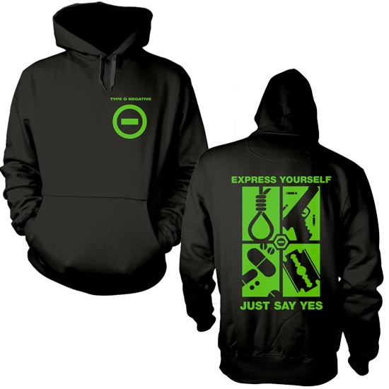 Hoodie - Type O Negative - Express Yourself - Pullover-Metalomania