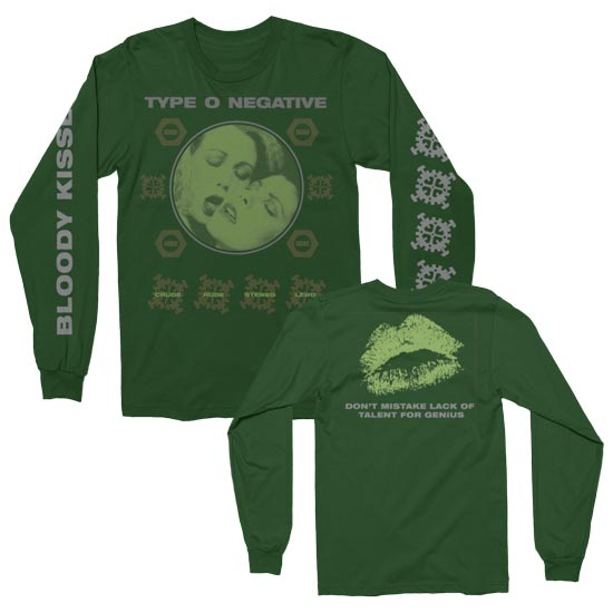 Long Sleeves - Type O Negative - Crude Gears - Green-Metalomania