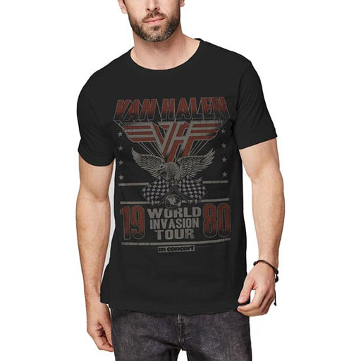 T-Shirt - Van Halen - Invasion Tour '80-Metalomania