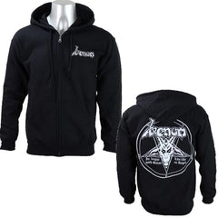 Hoodie - Venom - In League With Satan - Zip
