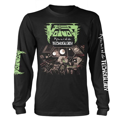 Long Sleeves - Voivod - Killing Technology-Metalomania