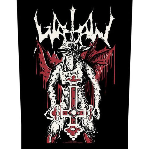 Back Patch - Watain - Inverted Cross