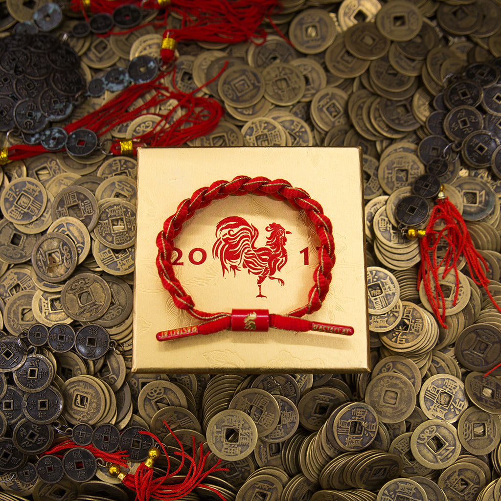 Rastaclat Year of The Rooster Classic Bracelet. The Village Soccer Shop