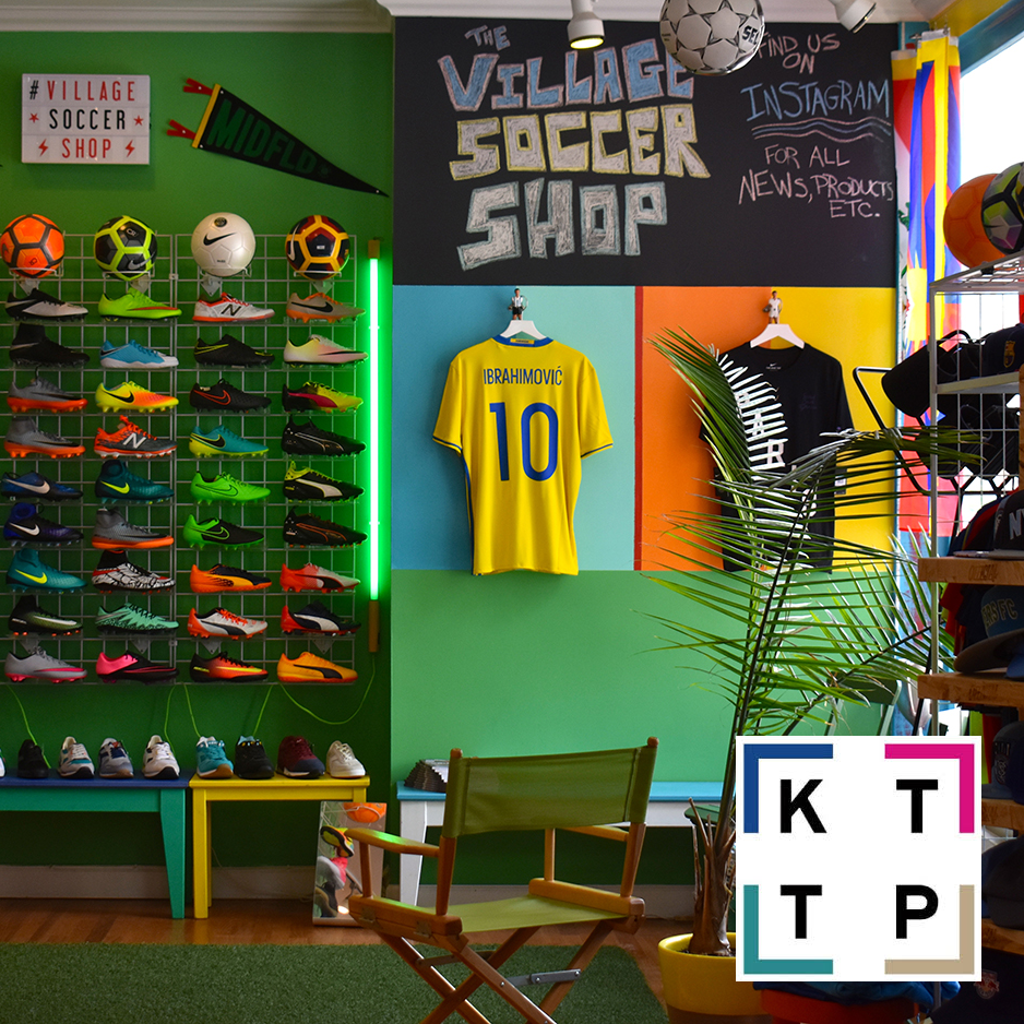 The Village Soccer Shop on Kicks to The Pitch Destinations