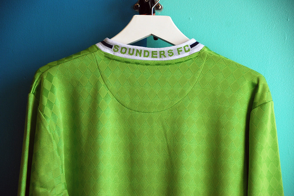 Mitchell & Ness Seattle Sounders Throw-In Retro Jersey - The Village Soccer Shop