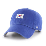 '47 Brand South Korea Base Runner Clean Up Hat - Royal