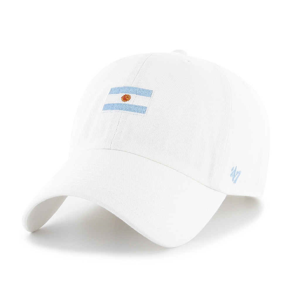47 Brand Argentina Base Runner Clean Up Hat - White