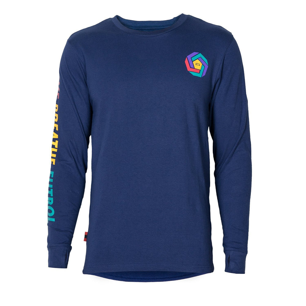 Live Breathe Futbol - The Impossible Long Sleeve Tee