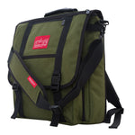 Manhattan Portage Commuter Laptop Bag (17 in.) with Back Zipper - Olive