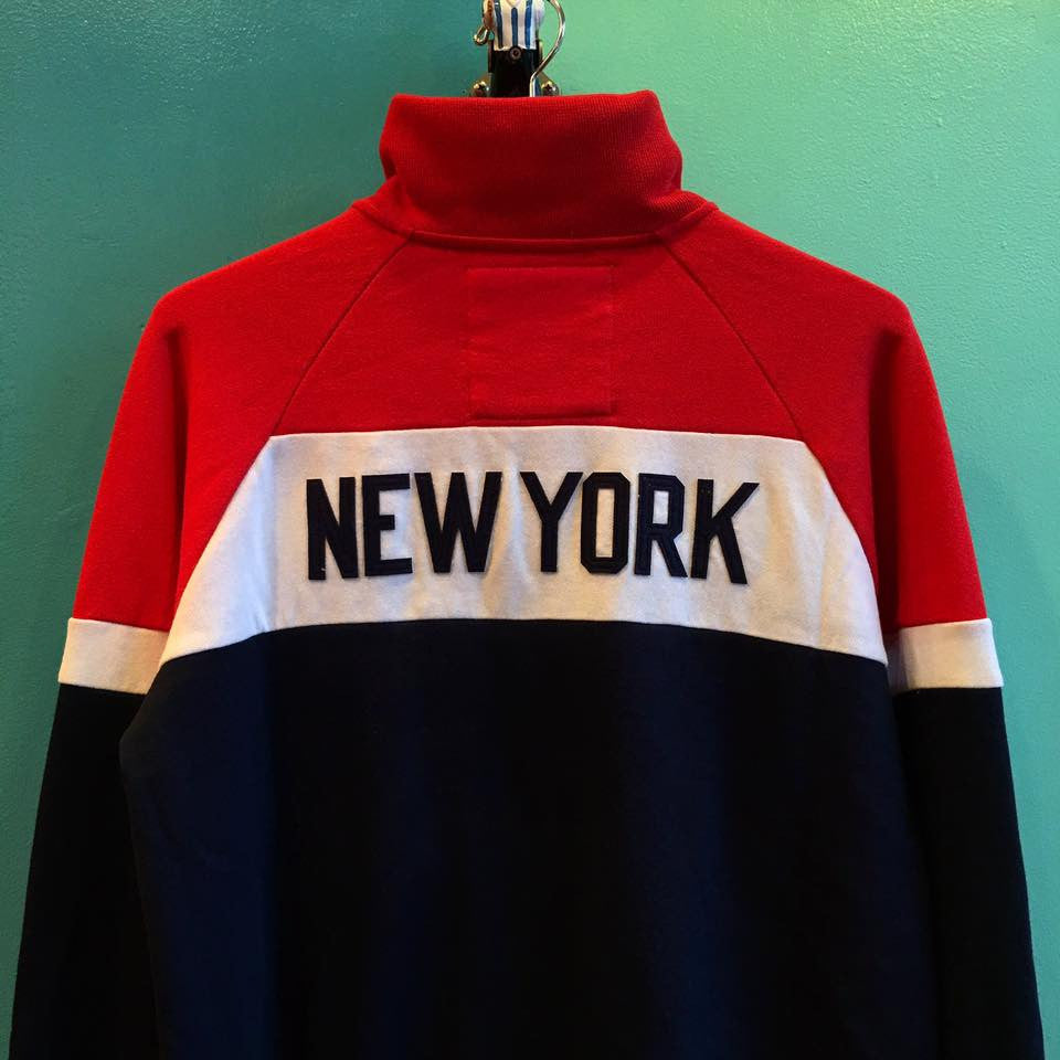 Mitchell & Ness New York Red Bulls Color Blocked French Terry Jacket - The Village Soccer Shop