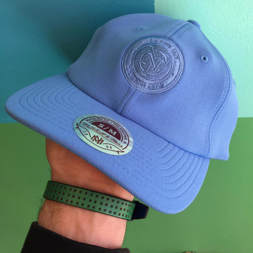 Mitchell & Ness New York City FC Tonal Flexfit Slouch Hat