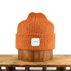 Upstate Stock Eco-Cotton Watchcap - Ochre
