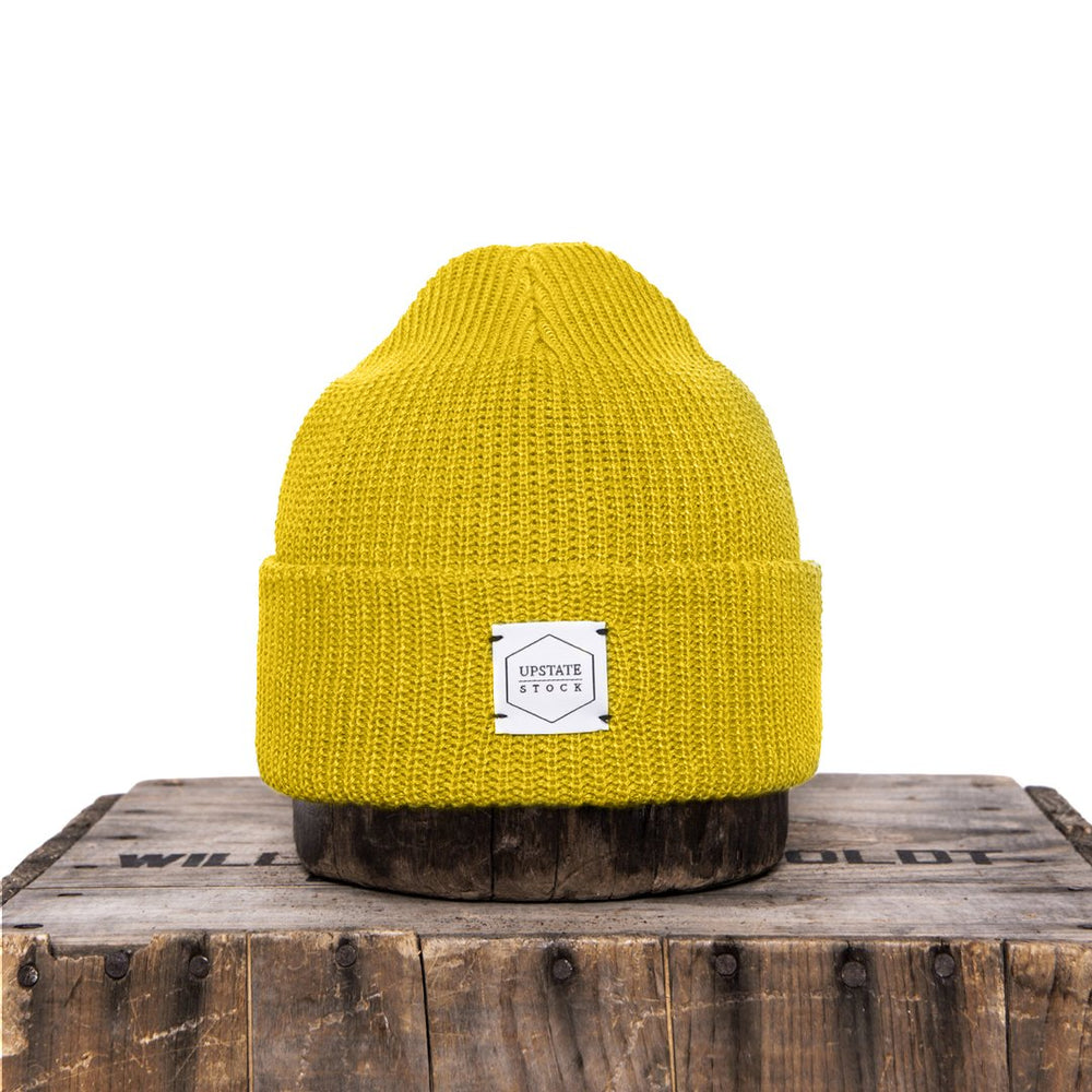 Upstate Stock Eco-Cotton Watchcap - Sunflower