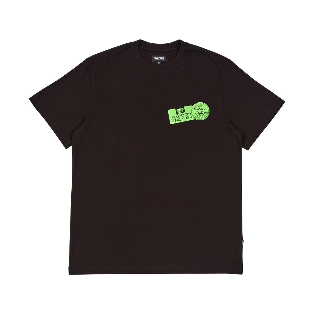 Nivelcrack x Weekend Offender Tee - Black