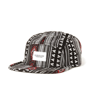 Live Breathe Futbol - Pattern 5-panel Cap