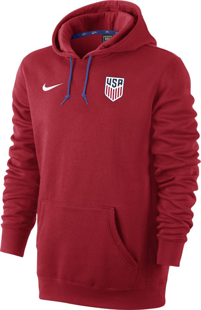 Nike U.S. Core Football Hoodie - University Red