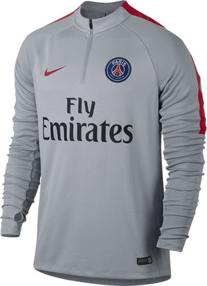 Nike Paris Saint-Germain Drill Top - Wolf Grey