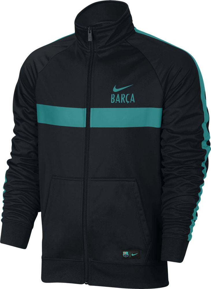 Nike FC Barcelona Core Jacket - Black/Energy