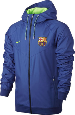 Nike FC Barcelona Authentic Windrunner Jacket - Team Royal