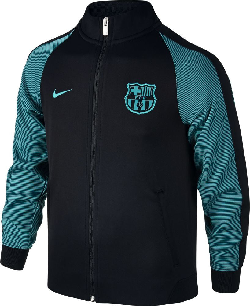 Nike FC Barcelona N98 Track Jacket - Black/Energy