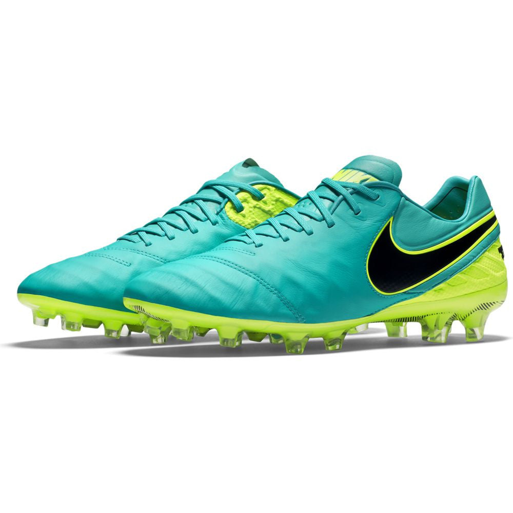huge selection of 24eed 5e419 Nike Tiempo Legend VI FG Soccer Boots - Clear Jade/Volt/Black