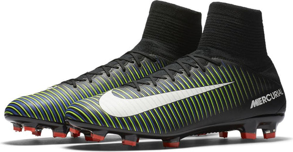 Nike Mercurial Veloce III Dynamic Fit FG Soccer Boots - Black Electric –  The Village Soccer Shop.