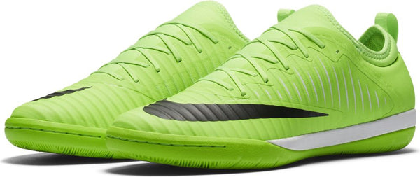 d22fe36e8fb27a Nike MercurialX Finale II IC Indoor Soccer Shoes - Flash Lime – The Village  Soccer Shop.