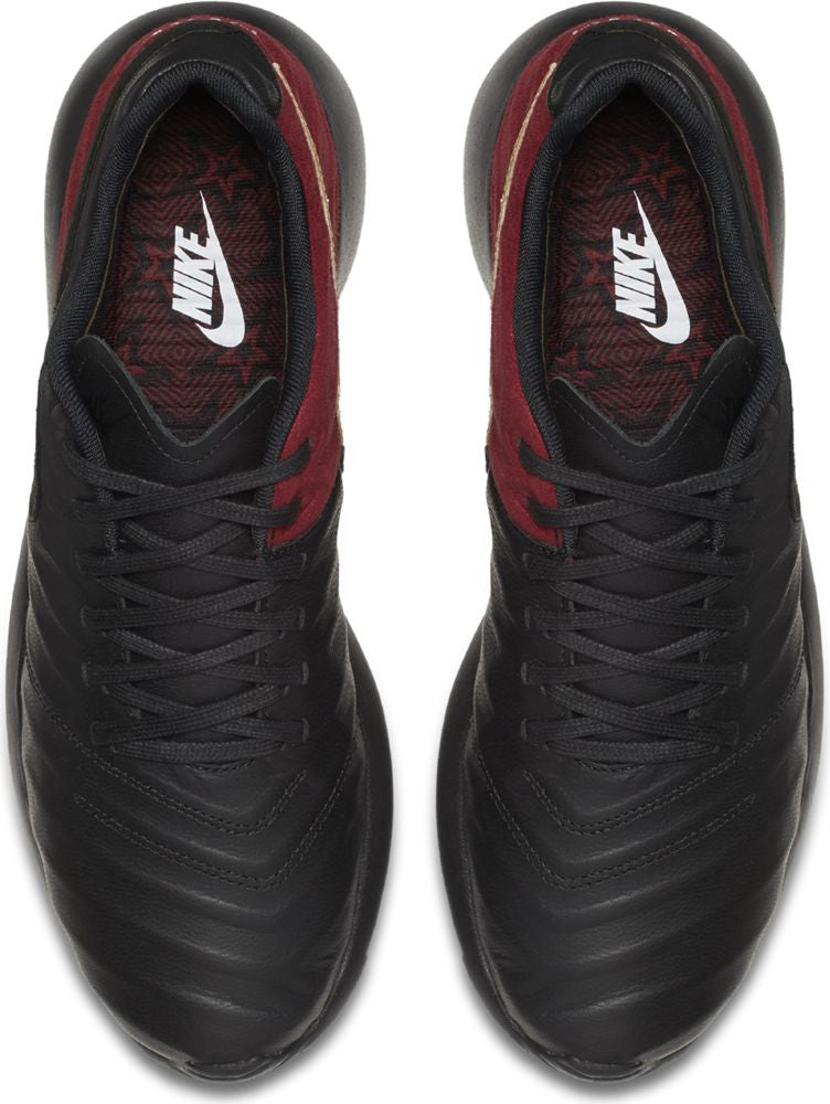 Nike Roshe Tiempo VI FC Men's Shoe - Black/Team Red