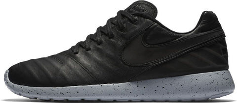 Nike Roshe Tiempo VI Men's Shoe - Black/Black/Wolf Grey