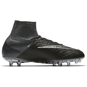 Nike Hypervenom Phantom II Tech Craft 2.0 FG Soccer Boots - Black/Metallic Silver