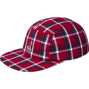 Kangol Summer Plaid 5-Panel Baseball Hat - Red Plaid