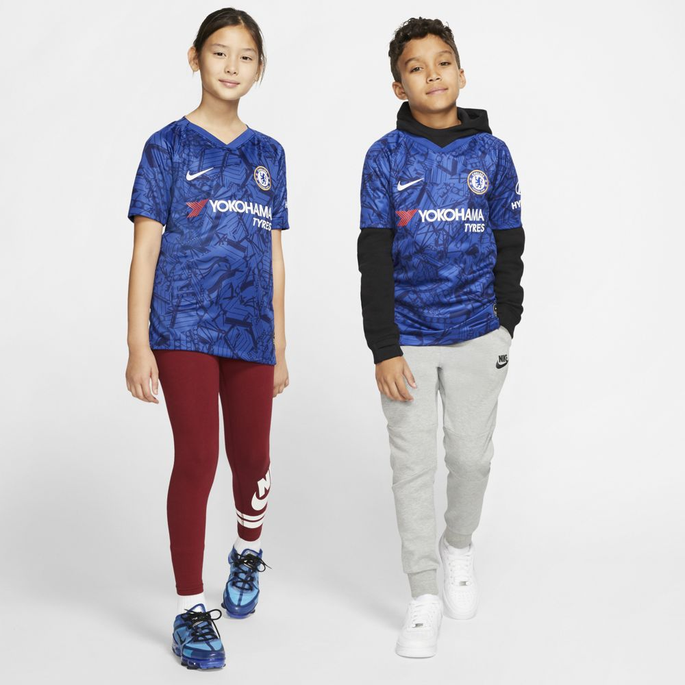 Nike Chelsea FC 2019/20 Stadium Home Big Kids' Soccer Jersey