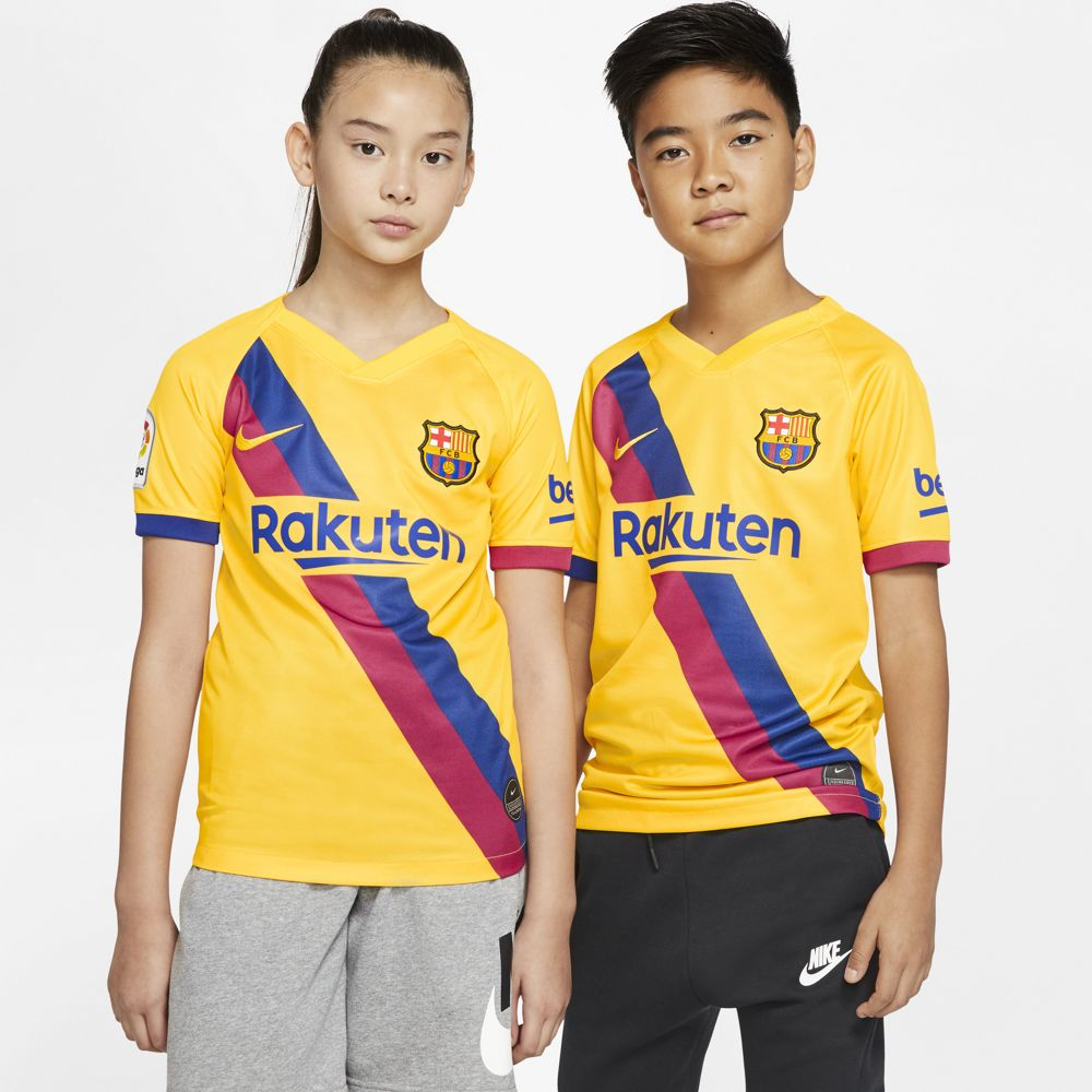 Nike FC Barcelona 2019/20 Stadium Away Big Kids' Soccer Jersey