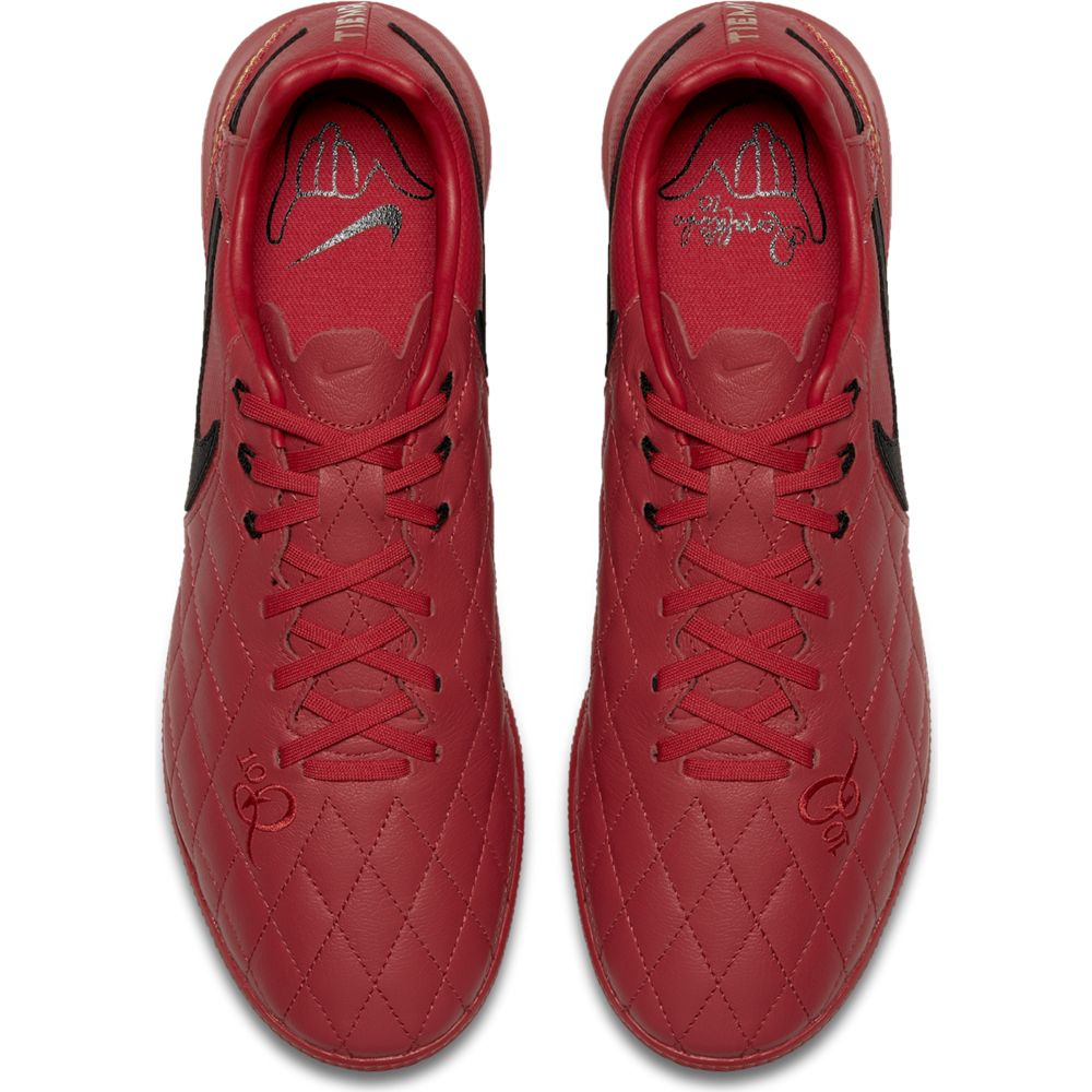 Nike Lunar LegendX 7 Pro 10R TF - Turf Soccer Shoes - University Red